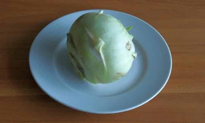 1 кочан кольраби необходим для приготовления молочного супа с овощами