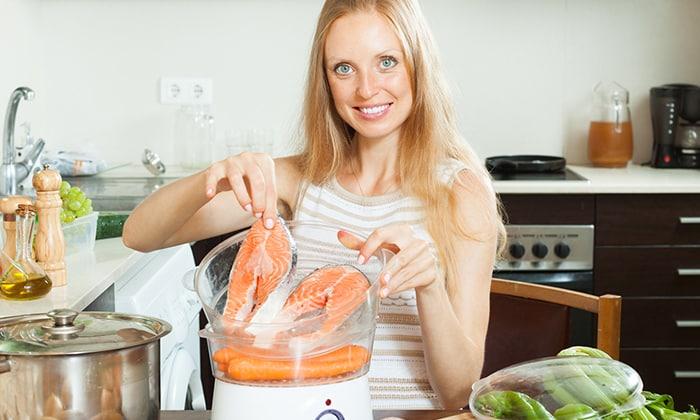 При диффузных изменениях поджелудочной железы лучше всего готовить блюда на пару