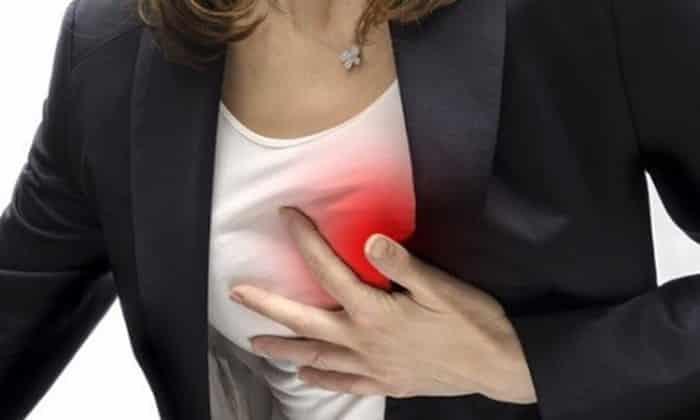 Учащенное сердцебиение может проявится после применения препарата