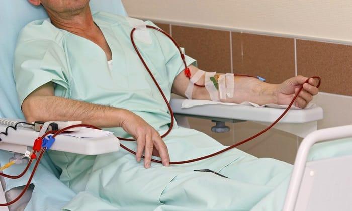 Противопоказан данный препарат при проведении пациенту гемодиализа