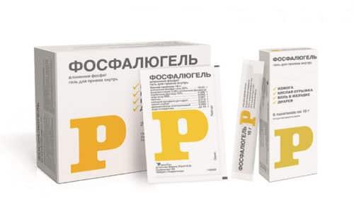 Фосфалюгель при панкреатите действует как обволакивающее средство, имеющее антацидный и абсорбирующий эффект
