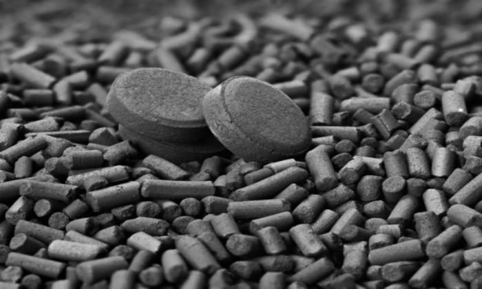 В составе лекарства есть активированный уголь