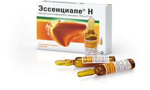 Эссенциале используется в качестве вспомогательного препарата при комплексном лечении панкреатита острой и хронической форм