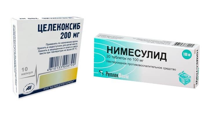 Нередко используются селективные ингибиторы ЦОГ-2, к средствам такого типа, часто применяющимся для устранения болевого синдрома при раке поджелудочной железы, относятся Нимесулид и Целекоксиб