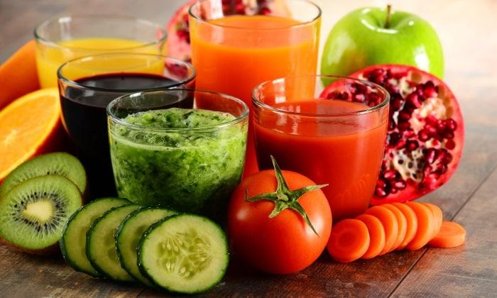 Для того чтобы восстановить пищеварение и предотвратить появление приступов жжения необходимо пить натуральные соки из овощей