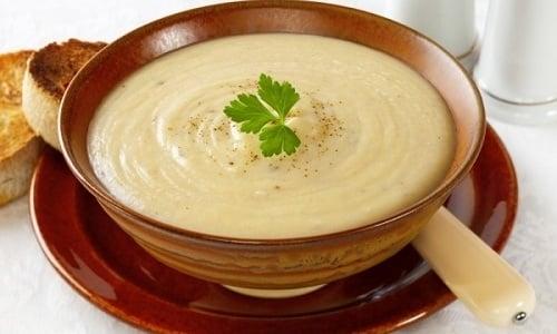 После обострения панкреатита можно есть суп-пюре из цветной капусты