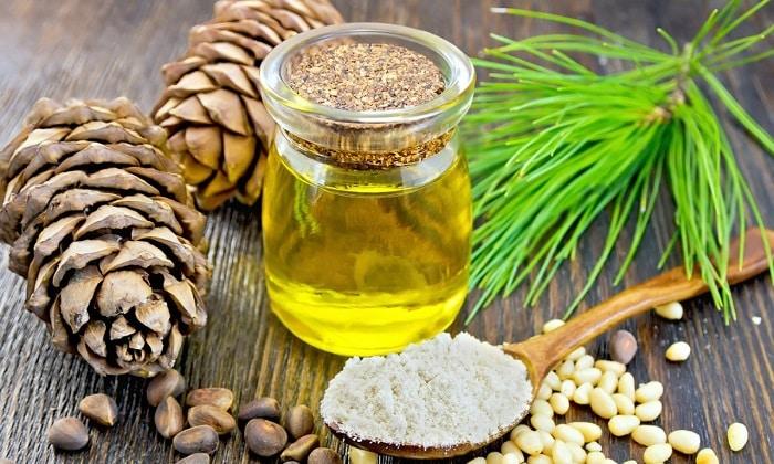 Кедровое масло — обладает набором редчайших микроэлементов