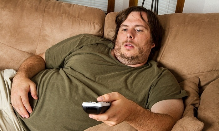 Также патология может появиться у людей с лишним весом