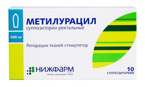 Свечи Метилурацил применяются для процесса восстановления тканей. Медикамент устраняет воспаление поджелудочной железы и органов ЖКТ