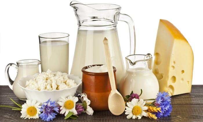 Молочные продукты разрешены к употреблению