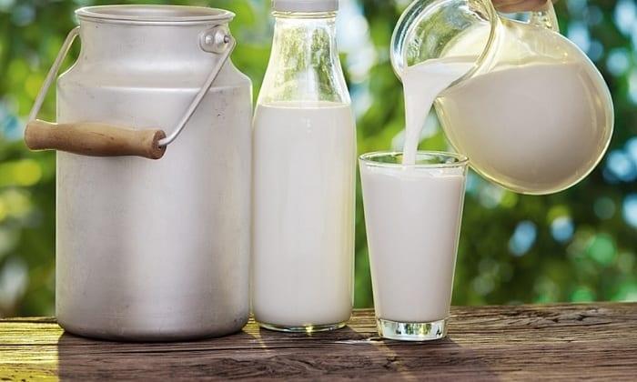 В стадии ремиссии возможно употребление рисовой каши, сваренной на молоке