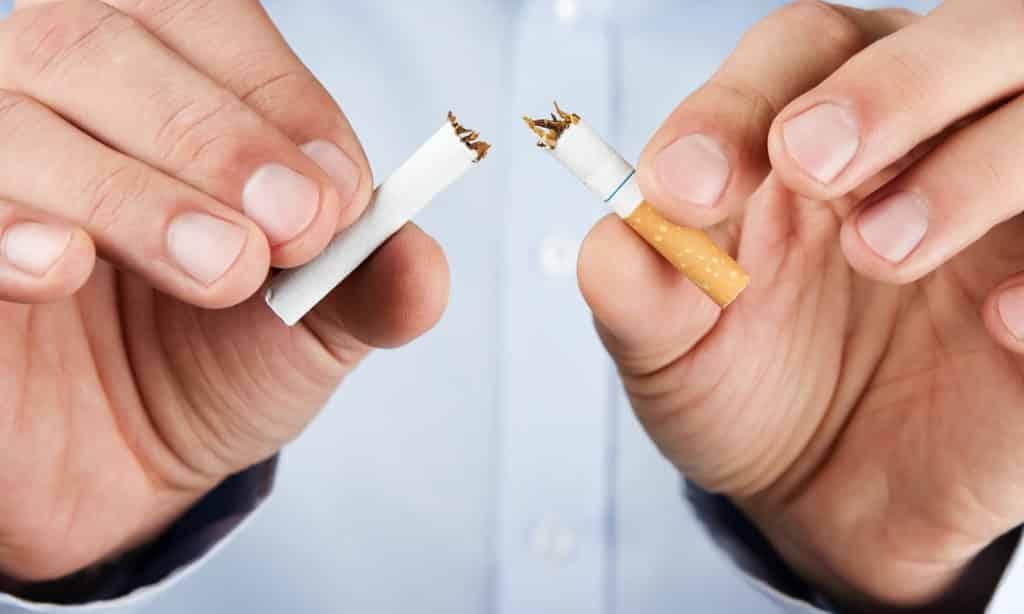 Лечение предполагает отказ от сигарет