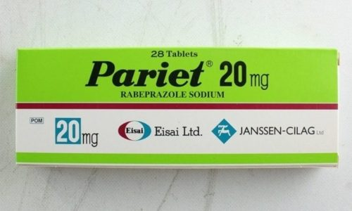 Париет при панкреатите назначают как средство, сдерживающее избыточную секрецию желудочного сока