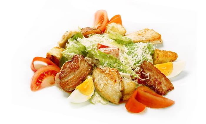 Легкий и яркий салат