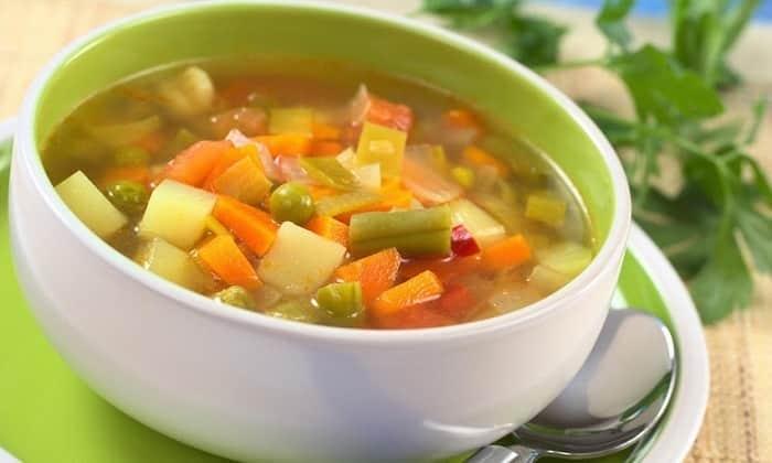В меню больного панкреатитом должны входить супы