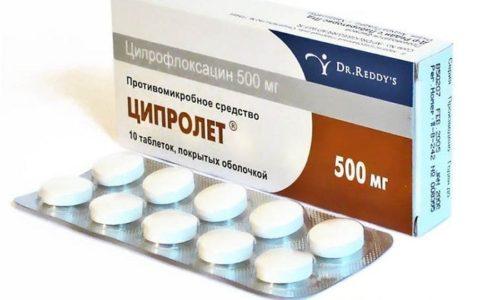 Ципролет является антибиотиком широкого диапазона действия. Он оказывает бактерицидный эффект на болезнетворные микроорганизмы
