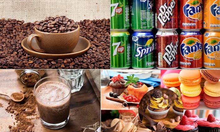 Под запретом находятся кондитерские изделия, газированные напитки, какао, крепкий чай и кофе