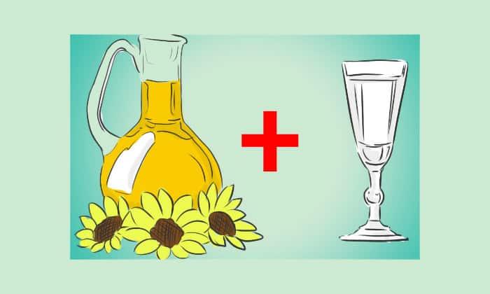 Хотя народные средства малоэффективны при метастазах, в борьбе со злокачественными клетками может помочь смесь на основе нерафинированного масла и водки