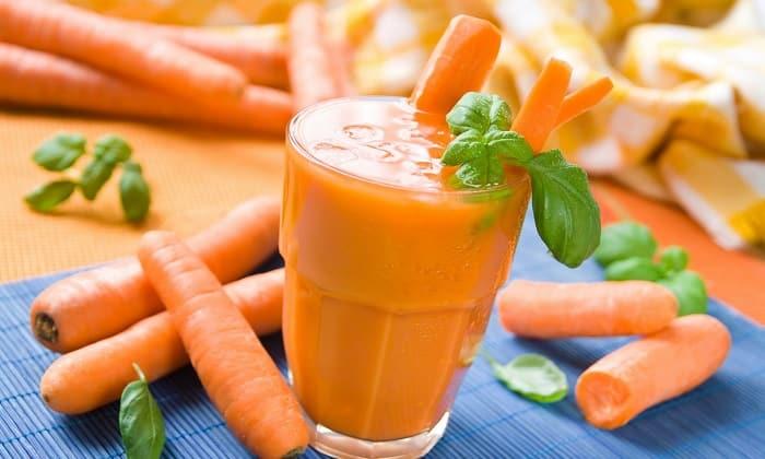 Чтобы улучшить вкусовые качества, его можно разбавить морковным соком, богатым бета-каротином и другими витаминами