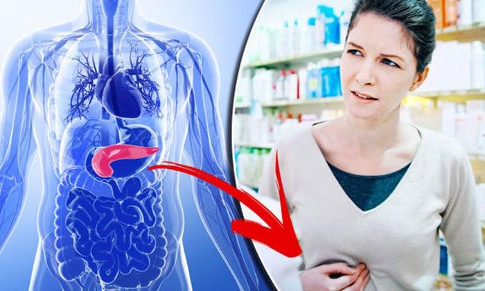 Один из явных признаков нарушения работы поджелудочной железы ноющие боли в верхнем отделе живота
