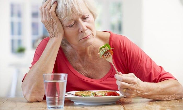 К характерным симптомам злокачественного новообразования поджелудочной относят ухудшение аппетита