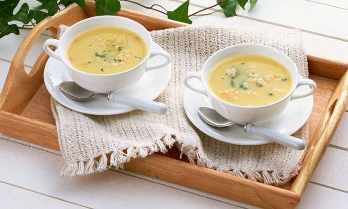 Блюда должны быть жидкими или в виде пюре, это снизит болевые спазмы