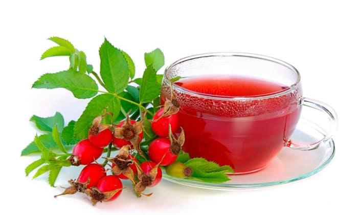Больному можно пить чай из шиповника