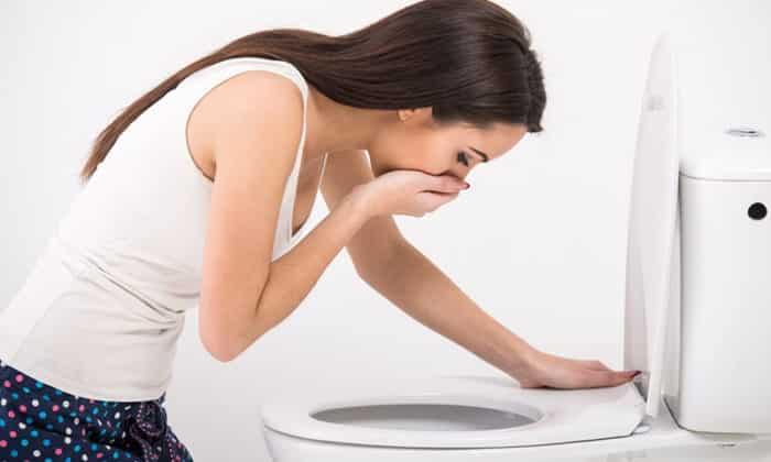 Тошнота и рвота относятся к клиническим признакам рака железы