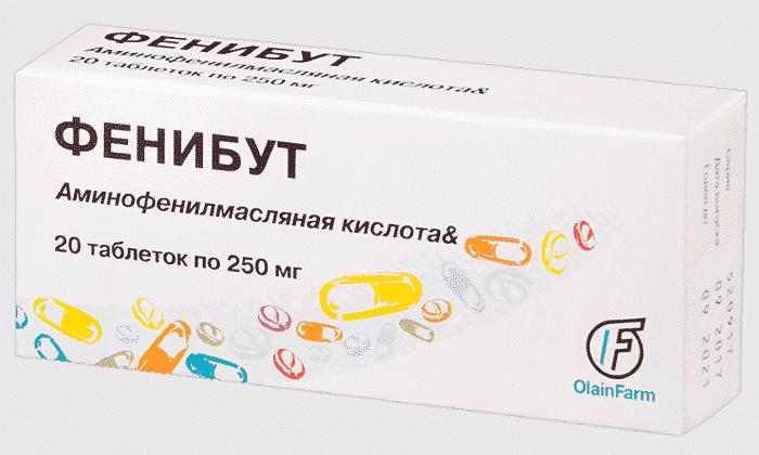К препаратам, отличающимся схожим действием, относится Фенибут