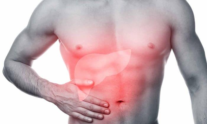 Препарат Мексидол не используют при остром снижении функций печени