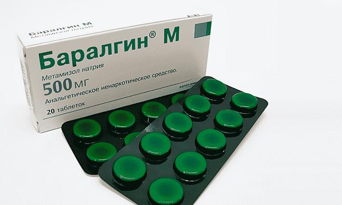 Таблетки 500 мг содержат метамизол натрия в качестве действующего компонента