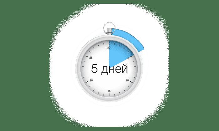 Для снятия болевого синдрома максимальная продолжительность применения составляет 5 дней