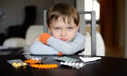 В детском возрасте применение препарата не рекомендовано