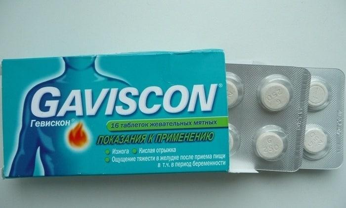 Гевискон обеспечивает защиту пищевода от раздражения