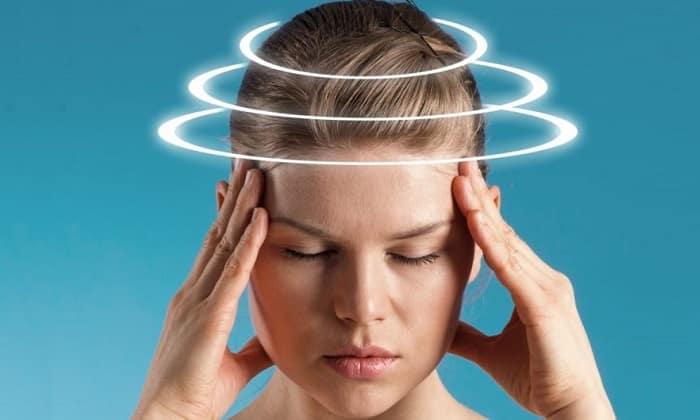 Редко оказывается неблагоприятное воздействие на центральную нервную систему, что проявляется в виде головокружения