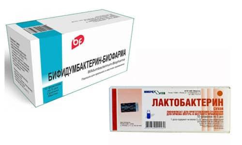 Чтобы вернуть микрофлору кишечника к нормальному состоянию, врачи часто рекомендуют принимать Бифидумбактерин и Лактобактерин