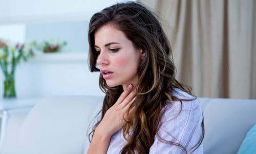 К возможным последствиям приема средства относятся незначительные боли в груди и одышка, может присутствовать ощущение сухости во рту и металлический привкус