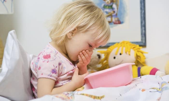 Плохое пищеварение у детей может спровоцировать тошноту и рвоту