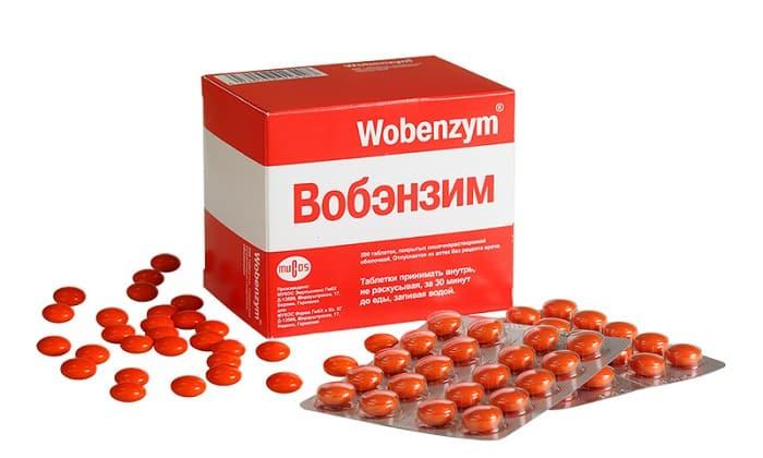 Вобэнзим оказывает фибринолитическое, иммуномодулирующее и антиагрегантное воздействия