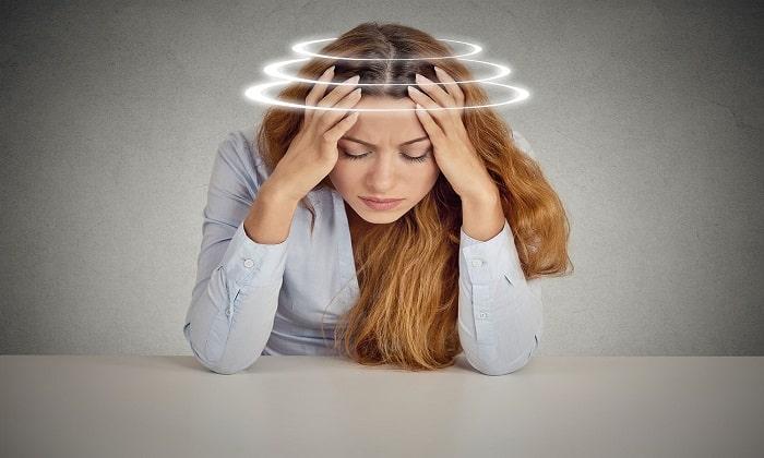 Передозировка сопровождается головокружением