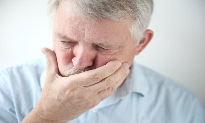 На фоне лечения Аджифлюксом может появиться тошнота