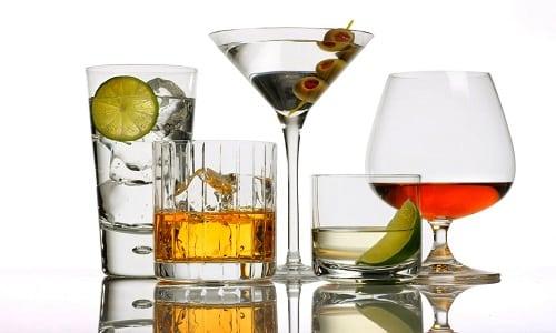 Нежелательно комбинировать со спиртными напитками