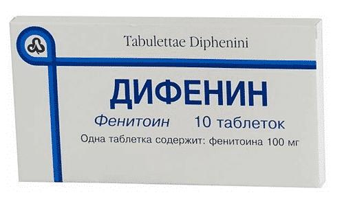 Дифенин может отрицательно повлиять эффективность действующего компонента в препарате