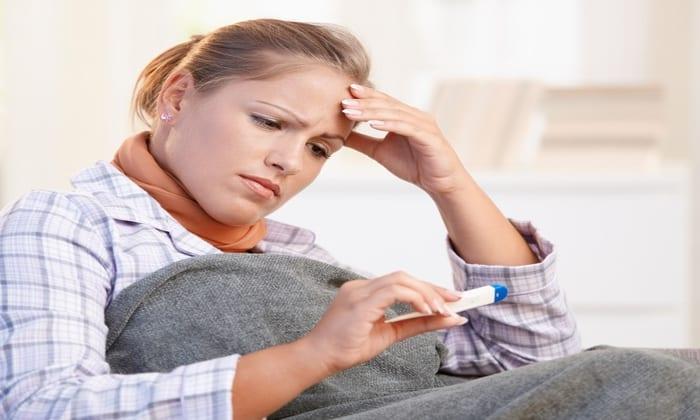 Признаком передозировки является появление озноба