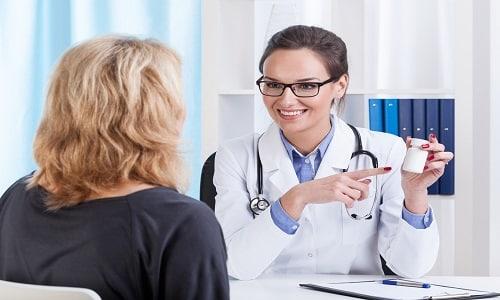 Дозировку препаратов и сроки терапии определяет лечащий врач