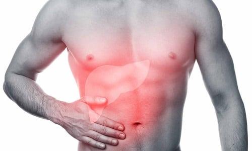 При печеночной недостаточности следует принимать лекарство под наблюдением врача