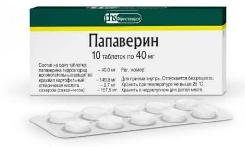 Одновременное применение медикаментозного средства с папаверином усиливает гипотензивный эффект
