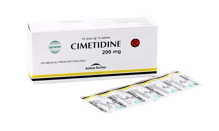Взаимодействие Циметидина, натриево гидрокарбонат: влияет снижение биодоступности этих средств