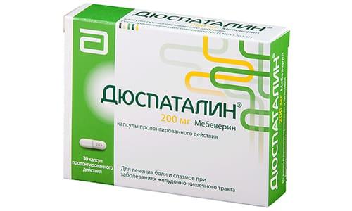 Французско-нидерландский препарат Дюспаталин 200 воздействует на гладкие мышцы ЖКТ