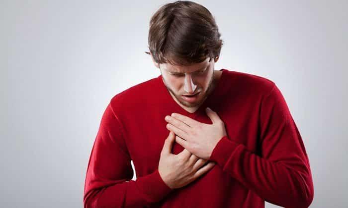 Аллергические проявления на компоненты препаратов могут выразиться в виде изжоги